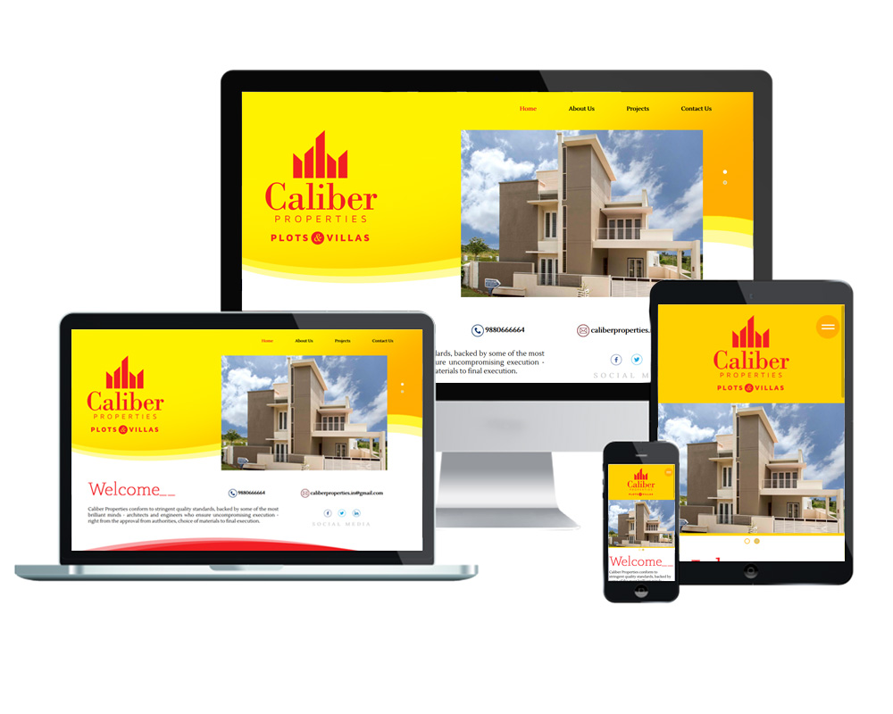 Caliber Properties - Website Designed and Developed by Global Buzz