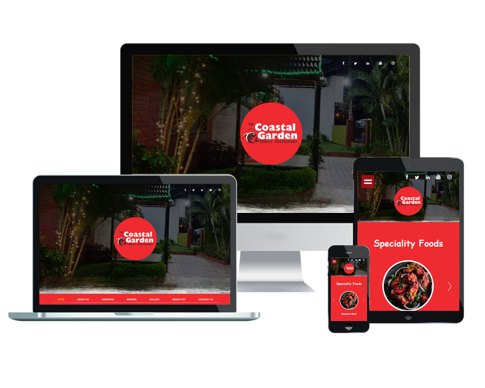 Coastal Garden - Website Designed and Developed by Global Buzz