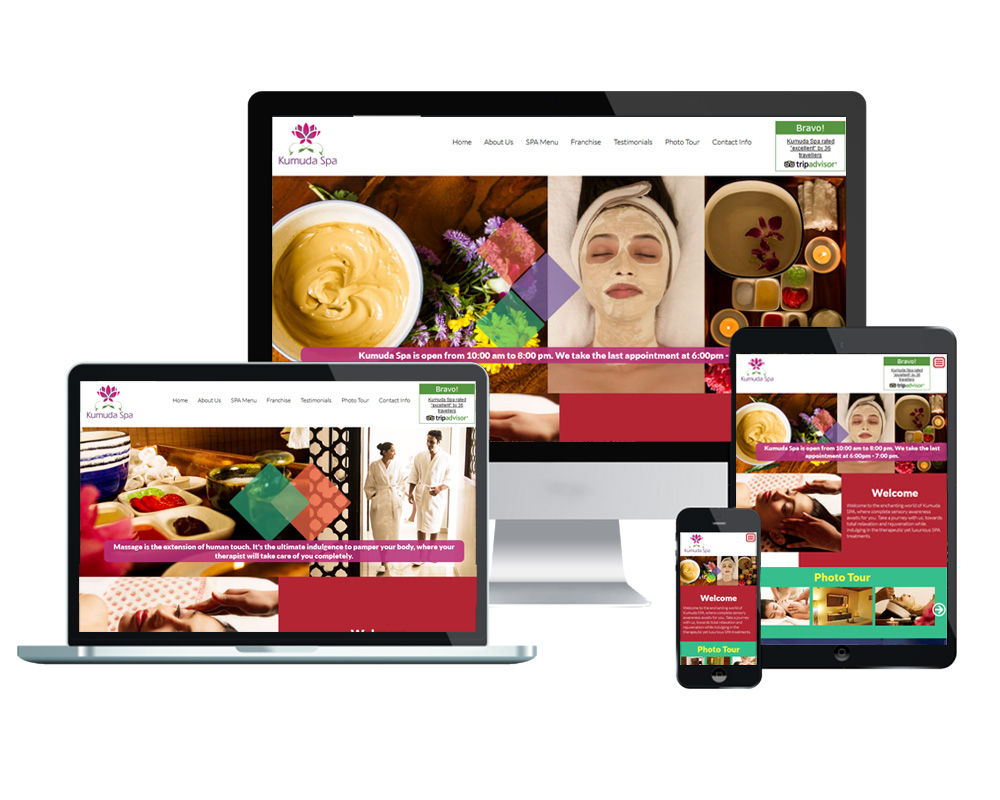 Kumuda-Spa - Website Designed and Developed by Global Buzz