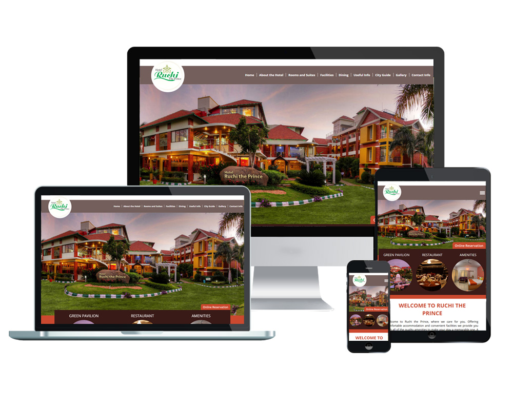 Ruchi The Prince - Website Designed and Developed by Global Buzz